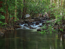 Florence Creek waterfall, Litchfield National Park. Australia Royalty Free Stock Image