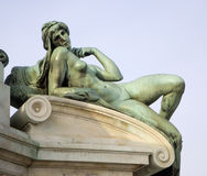 Florence - detail from Michelangelo landmark Royalty Free Stock Photography