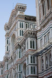 Florence, Dome. Details on a cathedral in Florence Italy Santa Maria del Fiore Stock Photography
