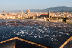 Florence Dome. The Dome of Santa Maria del Fiore. Florence, Italy Royalty Free Stock Images