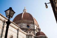 Florence Dome. The Dome of Santa Maria del Fiore. Florence, Italy Royalty Free Stock Photography