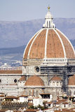 Florence dome. The worldwide famous dome of the main cathedral in Florence, Italy Royalty Free Stock Photos