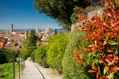 Florence Dome, Itali? royalty-vrije stock afbeeldingen