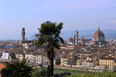 Florence Dome and Town Hall Royalty Free Stock Image