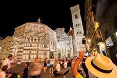 Florence domkyrka av St Mary av blommorna Royaltyfri Fotografi