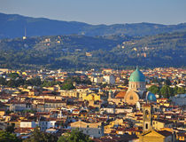 Florence downtown Royalty Free Stock Photos