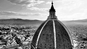Florence Duomo (B&W) Images stock