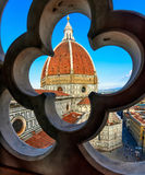 Florence Duomo. Basilica di Santa Maria del Fiore Basilica of Saint Mary of the Flower in Florence Royalty Free Stock Images