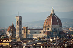 Florence Duomo and campanile Stock Images