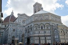 Florence Duomo, Campanile and Baptistery Royalty Free Stock Image