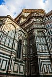 Florence Duomo Cathedral detail Stock Photos