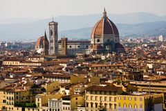 Florence, Duomo and cityscape Stock Photo