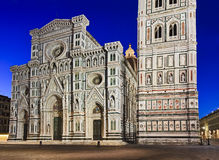Florence Duomo Close Rise royalty-vrije stock foto
