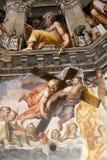 Florence - Duomo. De Dag des oordeels Royalty-vrije Stock Foto