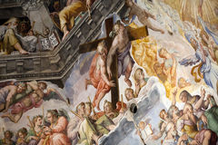 Florence - Duomo. De Dag des oordeels. Royalty-vrije Stock Foto