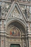 Florence Duomo facade details Stock Photos