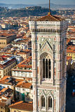 Florence, Duomo and Giotto's Campanile. royalty free stock photos