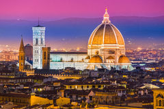 Florence, Duomo and Giotto's Campanile. Royalty Free Stock Photography