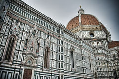 Florence Duomo in hdr tone Royalty Free Stock Photo