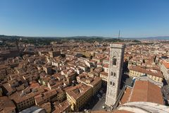 Florence Duomo in Italy, summer Royalty Free Stock Images