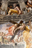 Florence - Duomo .The Last Judgement Royalty Free Stock Photo