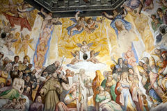 Florence - Duomo .The Last Judgement. Stock Photography