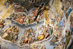 Florence - Duomo .The Last Judgement. Royalty Free Stock Photography
