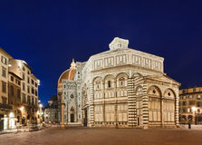 Florence Duomo Left sunrise Royalty Free Stock Photos