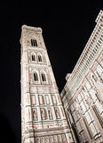 Florence Duomo by night Royalty Free Stock Photo