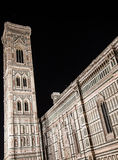 Florence Duomo by night Royalty Free Stock Images