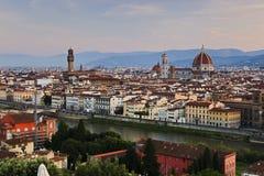 Florence Duomo Pan Rise stock photography