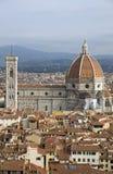 Florence Duomo. Duomo: Santa  del Fiore - Florence. Italy Royalty Free Stock Photos