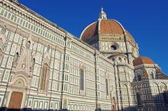 Florence Duomo Santa Maria Del Fiore Arkivfoton