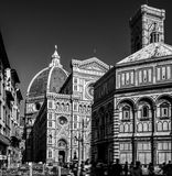 Florence - Duomo square Royalty Free Stock Photography