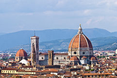 Florence Duomo. Taken from the Belvedere, Florence, Italy Stock Photo