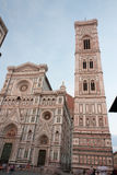 Florence - Duomo and Tower of Firenze. View of Duomo di Firenze stock photography