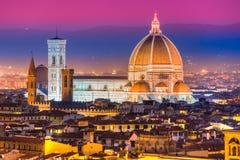 Florence Duomo Tuscany. Arkivfoto