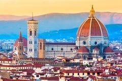 Florence Duomo, Tuscany. Stock Photo