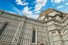 Florence Duomo under a blue sky Royalty Free Stock Photo