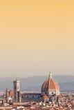 Florence Duomo view Stock Photo