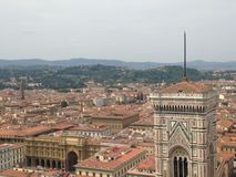 Florence From Duomo Stock Image
