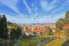 Florence in een zonnige dag royalty-vrije stock fotografie
