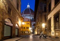 Florence en kathedraal Royalty-vrije Stock Foto's