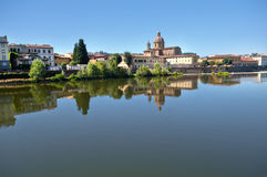 Florence. A fabulous city of Florence. Along the riverside. Italy royalty free stock images