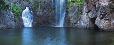 Florence Falls in het Nationale Park van Litchfield, Australië royalty-vrije stock foto
