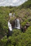 Florence Falls, het Nationale Park van Litchfield, Noordelijk Grondgebied, Australië stock afbeelding