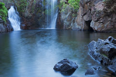 Florence Falls in Litchfield NP, Australië stock afbeelding