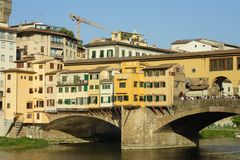 Florence, the famous bridge Royalty Free Stock Image
