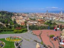 Florence Firenze cityscape, Italien royaltyfria foton