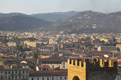 Florence (Firenze) Italy city view Stock Image